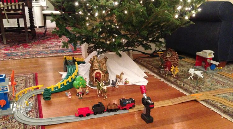 Electric Christmas Train Sets